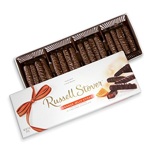 Russell Stover Dark Chocolate Orange Jelly Strings, 11