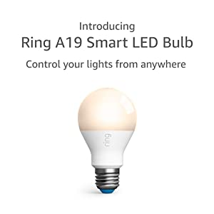 Introducing Ring A19 Smart LED Bulb, White (Ring Bridge required)