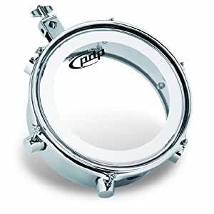 Pacific Drums by DW Mini Timbale, Chrome Plated Steel, 4X8 by Pacific Drums by DW