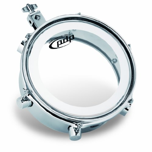 Pacific Drums by DW Mini Timbale, Chrome Plated Steel, 4X10 (Latin Case Drum)