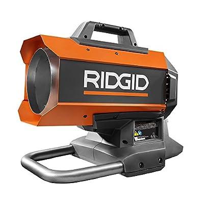 Ridgid R860424B 18-Volt Hybrid Propane Forced Air Heater 60,000 BTU