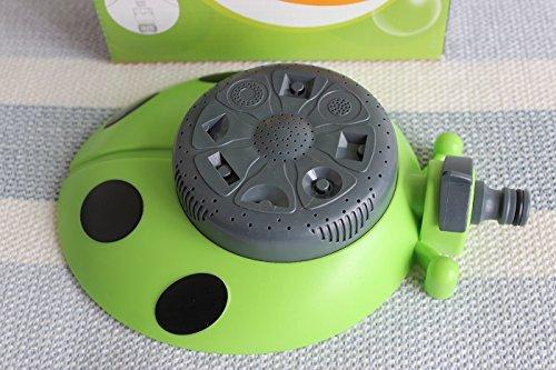 Garden Tool 8 Functions Green Ladybug Shape Sprinkler For Garden Decoration Watering Flowers Plants Or As Lawn Sprinkler