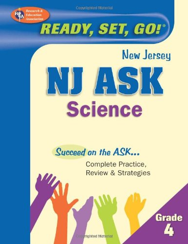 NJ ASK Grade 4 Science (New Jersey ASK Test Preparation)