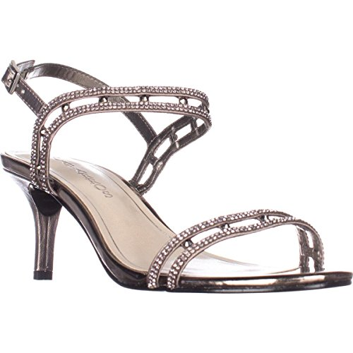 Sandals Strap Happy Mushroom Caparros Metallic Dress Ankle wBSxqC