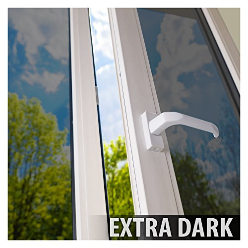 Bdf s05 window film daytime privacy one way mirror silver for 2 way mirror window film