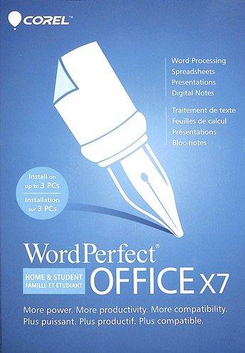 Corel Wordperfect Office X7 Home &Student 3-User OEM Prod...