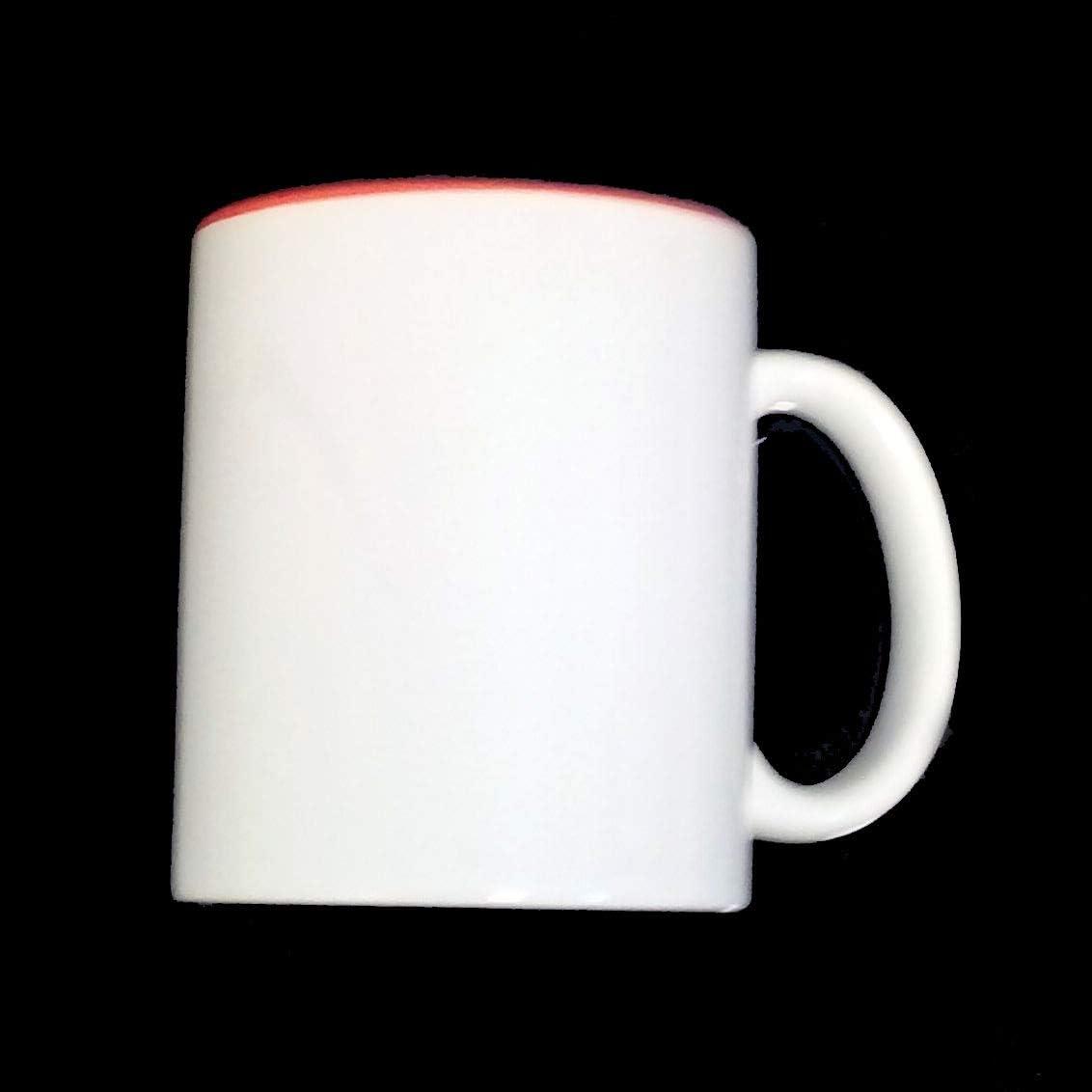 Sublimation Lot de 36 Tasses à café mug Blanc Intérieur - Rouge ...