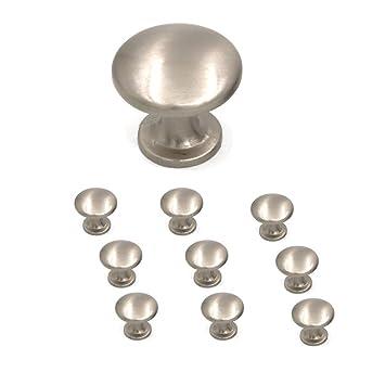 10 X pomelli comò - Maniglie dorate per mobili in metallo ...