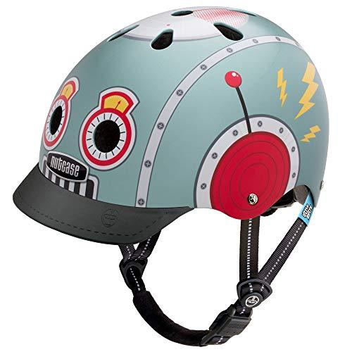 Nutcase - Little Nutty Bike Helmet for Kids, Tin Robot ()