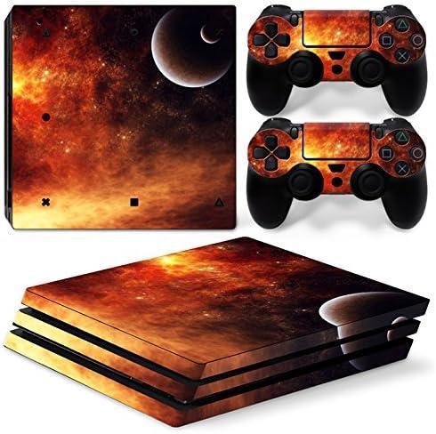 Sony PS4 Playstation 4 Pro Skin Design Foils Pegatina Set - Universe Motivo: Amazon.es: Videojuegos