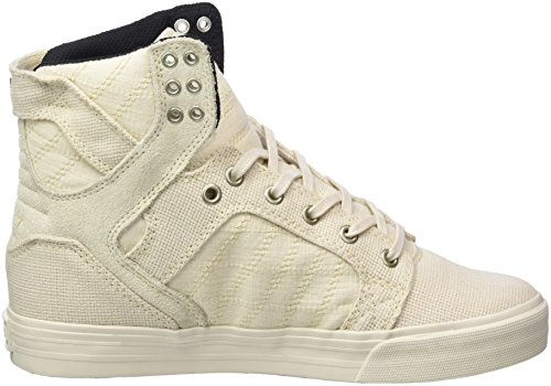 Supra Skytop Baskets Medium Os Blanc / Os Blanc
