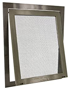 petsafe pet screen door bronze pet door for screen pet supplies. Black Bedroom Furniture Sets. Home Design Ideas