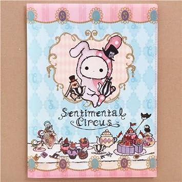 Carpeta archivador celeste Sentimental Circus 10 fundas A4/A3 fiesta té pastel: Amazon.es: Juguetes y juegos