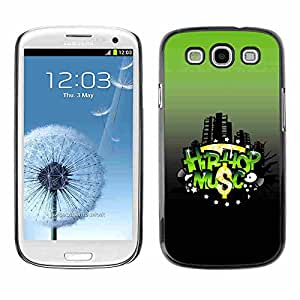 Shell-Star ( Hip-Hop Music ) Fundas Cover Cubre Hard Case Cover para Samsung Galaxy S3 III / i9300 i717