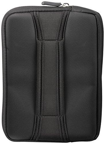 Goobay Nylon-Tasche mit Standfunktion für Tablet (21,1 cm (8 Zoll)) schwarz