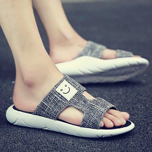 XIAOLIN Zapatillas de playa de los hombres de verano Sandalias Versión coreana de la tendencia de la personalidad de ocio al aire libre (Múltiples colores disponibles) (Tamaño opcional) ( Color : 05 , 01