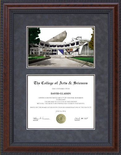 Amazon.com : Diploma Frame with San Francisco State (SFSU) Campus ...