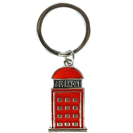 Londres Metal llavero - Cabina de teléfono: Amazon.es ...