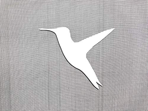 DCentral Hummingbird Screen Magnet: Multipurpose, Double-Sided, for Non-Retractable Screens, Helps to Stop Walking into Screens, for Non-Retractable Screens, Size W 4.5