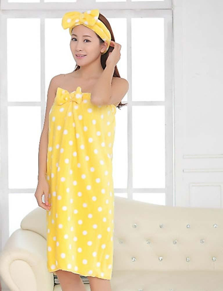 WWQY Women's Pajama , yellow , one-size