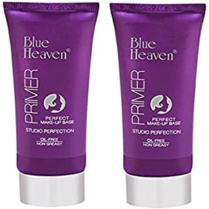 Blue Heaven Studio Perfection Primers, 60g (Transparent, BHPRIMER) – Set of 2