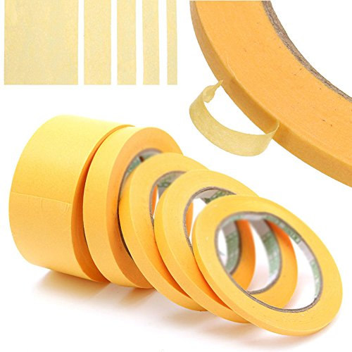 Phoenixb2c 50m No Residue Model Paint Spray Craft Refill Tool High Temperature Masking Tape
