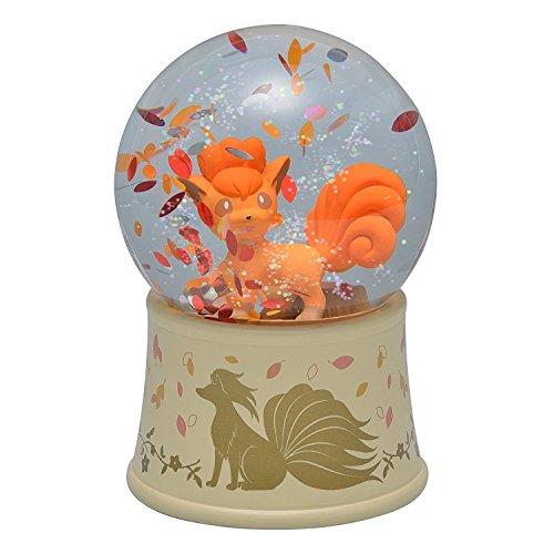 Pokemon Center Original Vulpix Snow Globe Crystal Season 3240-3300 ()