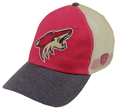 Gear Old Hockey Time (Old Time Hockey NHL Arizona Coyotes Men's Boone Adjustable Hat, One Size, Ruby/Stone)