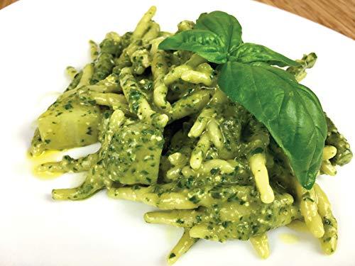 Trofie al Pesto: Pesto Genovese on Trofie, Potatoes and Green Beans