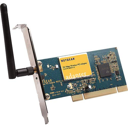 WG311NA - Netgear WG311 Wireless PCI Adapter PCI - 54 Mbps by NETGEAR
