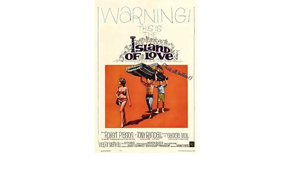 Isla de amor 11 x 17 - Póster de película 28 cm x 44 cm ...