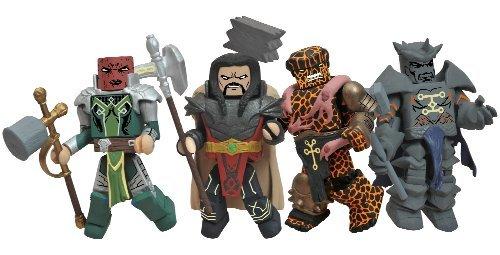 Diamond Select Toys Marvel Minimates: Fear Itself: The Worth