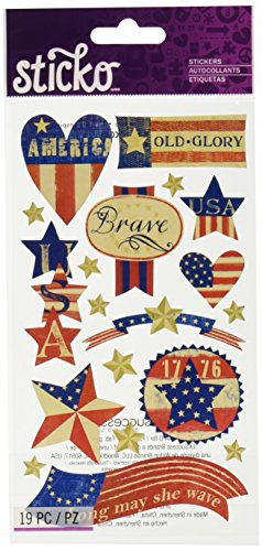 Sticko E5200582EK Success Stars and Stripes Stickers