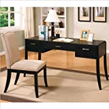 Coaster Home Furnishings Transitional Desk Set, Cappuccino