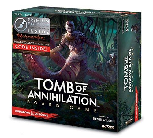 WizKids Tomb of Annihilation (Premium Edition) Board Game ()