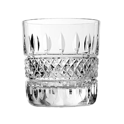 f7154a6f85f Image Unavailable. Image not available for. Color  Waterford Crystal Irish  Lace Double Old Fashioned ...