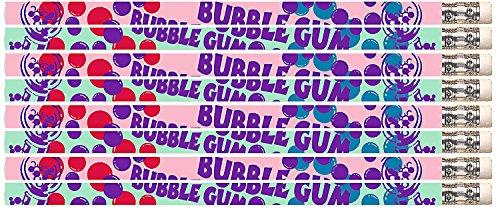 """D2381 Bubble Gum """"Scented"""" - 36 Bubble Gum Lightly Scented Pencils"""