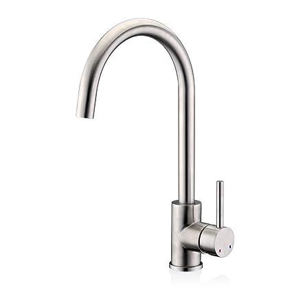 Efluky Single Handle Kitchen Faucet Single Hole Kitchen Faucets Hot