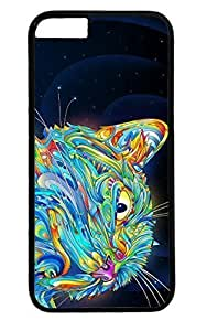 Trippy Cat Nice PC Black Case for Masterpiece Limited Design iPhone 4 4s by Cases & Mousepads