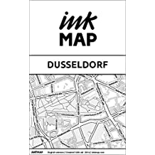 Dusseldorf Inkmap - maps for eReaders, sightseeing, museums, going out, hotels (English)