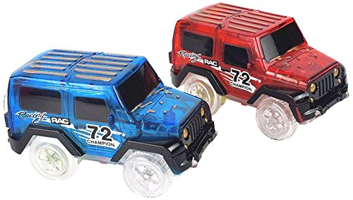 Replacement Light up Cars for Magic Tracks Cars Only As Seen on Tv