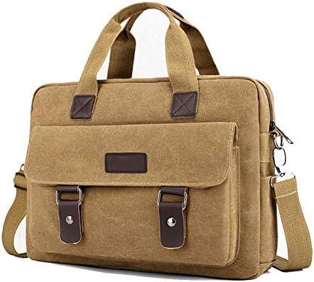 Color : Black Mens Briefcase Cross-Section Solid Color Laptop Bag Mens Handbag Business Briefcase Briefcases Shoulder Business Office Bag