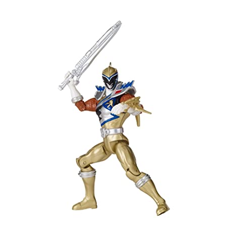 Power Rangers Dino Charge Action Figure Di Gold Ranger 12 5 Cm