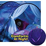 Pop up Dream Bed Tents for kids, Magic Play Tent Space Gifts Private Funny Nursery Bedroom