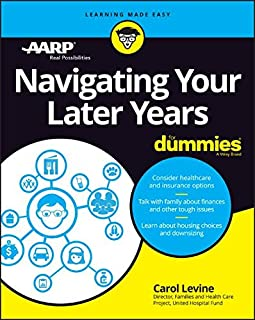 Book Cover: Navigating Your Later Years For Dummies