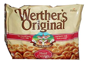 amazon com werthers original bag 190 pieces hard candy grocery