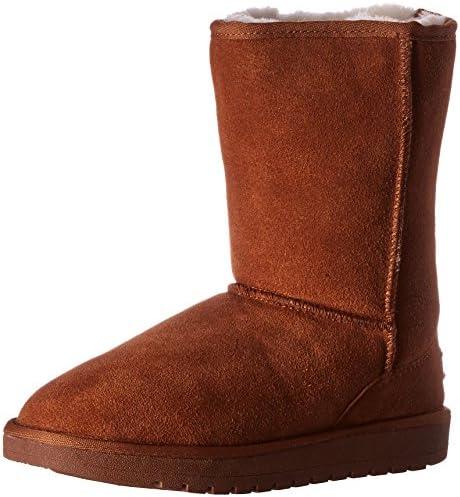 Amazon Com Cloud Nine Sheepskin Women S 9 Winter Boot Mid Calf