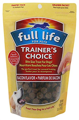 Treats Cardinal Training (Trainers Choice Mini Training Treats Bacon Flavor)