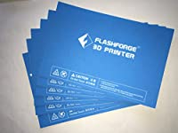 FlashForge HP-00057 Platform Sticker for Creator Pro and Dreamer, 6 Pcs Kit (Pack of 6) by ZHEJIANG FLASHFORGE 3D TECHNOLOGY CO.,LTD