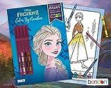 Disney Frozen 2 Elsa 32-Page Color by Number